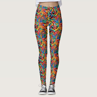 Melted Crayons Leggings