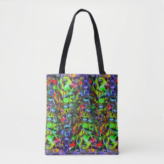 Melted Glass Tote Bag