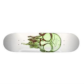 Melted Skateboard Deck