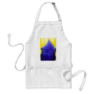 Melting Blue Pope (religious surrealism) Standard Apron