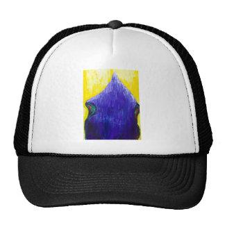 Melting Blue Pope (religious surrealism) Trucker Hat