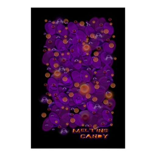 Melting Candy Poster