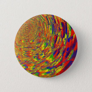 Melting Colors 2 Inch Round Button