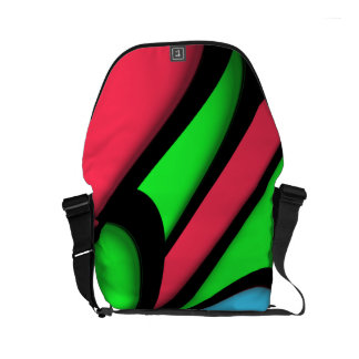 Melting Colors Courier Bag
