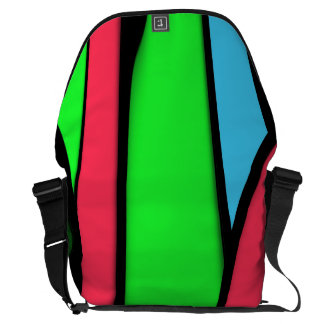 Melting Colors Courier Bags