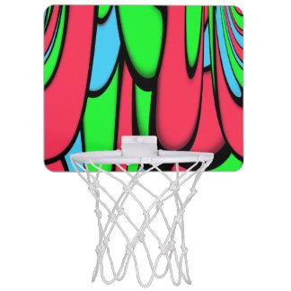 Melting Colors Mini Basketball Hoop