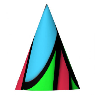Melting Colors Party Hat