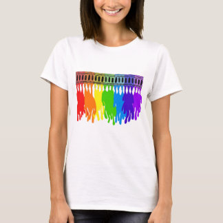 Melting Crayon Art Wear T-Shirt