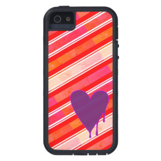 Melting Heart Purple Case For The iPhone 5