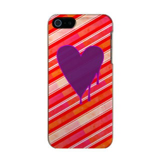 Melting Heart Purple Incipio Feather® Shine iPhone 5 Case