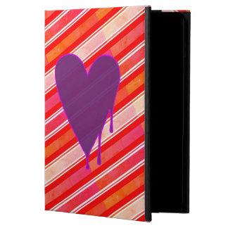 Melting Heart Purple iPad Air Cover