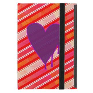Melting Heart Purple iPad Mini Covers