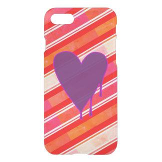 Melting Heart Purple iPhone 8/7 Case