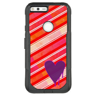 Melting Heart Purple OtterBox Commuter Google Pixel XL Case