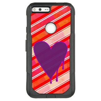 Melting Heart Purple OtterBox Commuter Google Pixel XL Case