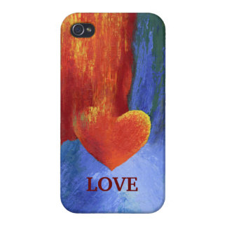 Melting Heart Valentine Phone Case Cases For iPhone 4