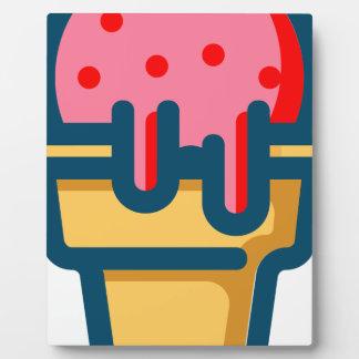 Melting Ice Cream Plaque