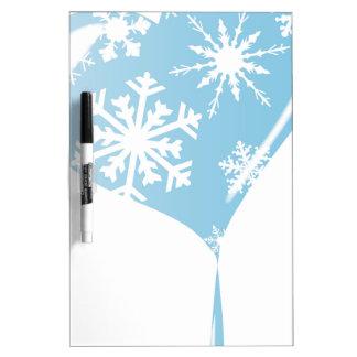 Melting Ice Heart Dry Erase Whiteboard