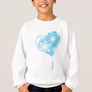 Melting Ice Heart Sweatshirt