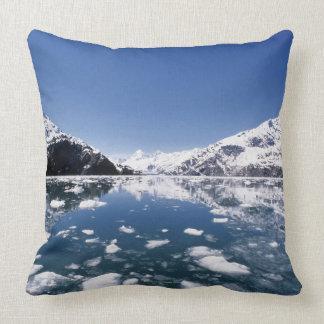 Melting Ice Throw Pillow
