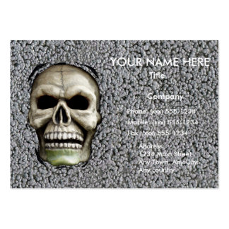 MELTING MAN ~ (Halloween design) ~ Business Card Templates