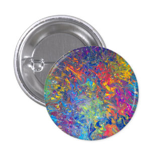 Melting Pot 1 Inch Round Button