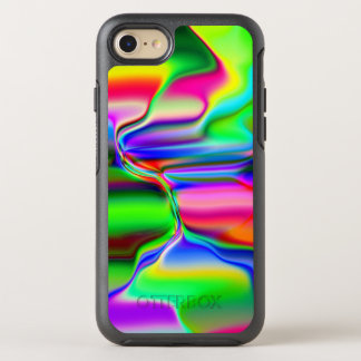 Melting Rainbow OtterBox Symmetry iPhone 7 Case