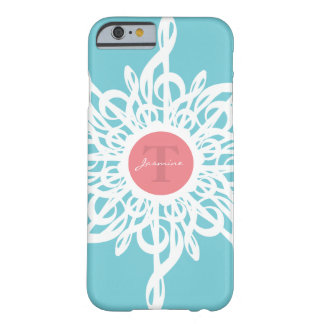 MELTPOINT Treble Clef Flower Monogram Barely There iPhone 6 Case