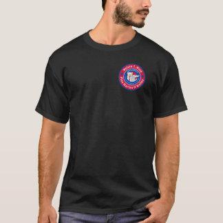Melvin T. Mink men's dark t-shirt