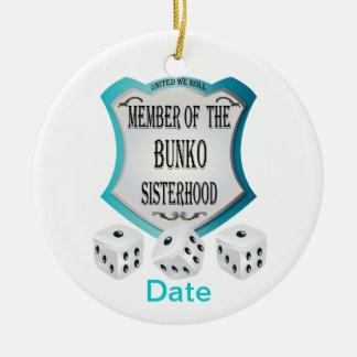 Member of the Bunko Sisterhood Ceramic Ornament