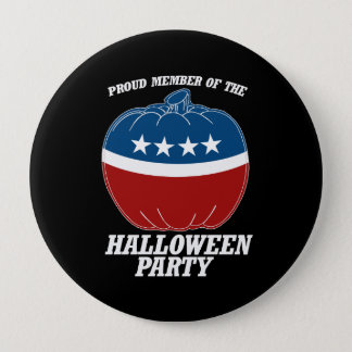 Member of the Halloween Party -.png 4 Inch Round Button