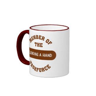 Member of the Lending a Hand Task Force Mug