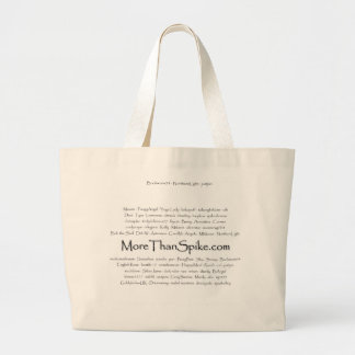Members names tote bag