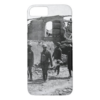 Members of the Medical Corps removing _War image iPhone 7 Case
