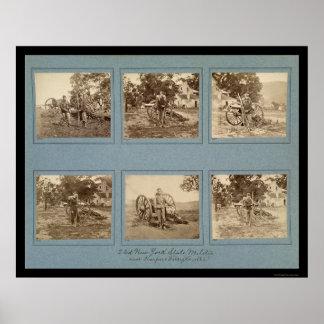 Members of the New York State Militia 1861 Poster