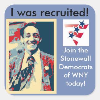 Membership Sticker SDWNY
