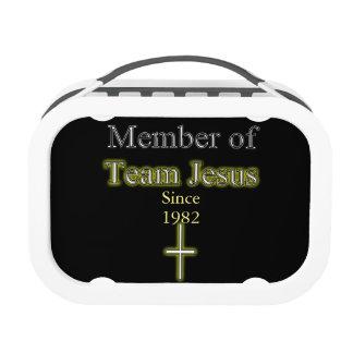 Membre de modèle de panier-repas de Jésus d'équipe