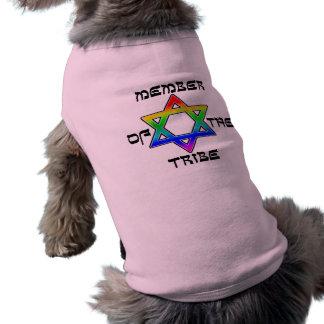 Membre des chemises de chien de tribu vêtements pour chien