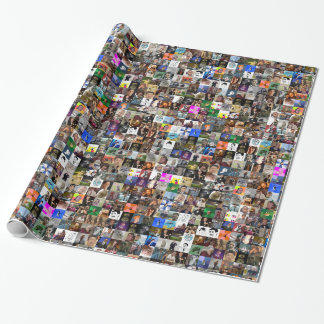 Meme Wrapping Paper- Color