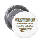 Memere of Gifted Grandchildren Buttons