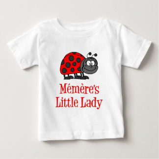 Memere's Little Lady Baby T-Shirt