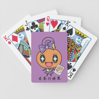 Memetchi Bicycle Playing Cards