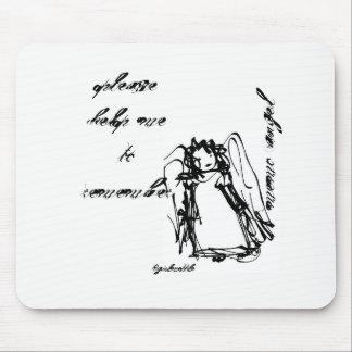 """Memo Angel"" Mouse Pad"