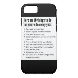 memo for husbands iPhone  case