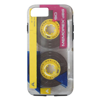 Memorex Audio Cassette Tape dbs 90 iPhone 8/7 Case
