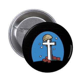 Memorial 2 Inch Round Button