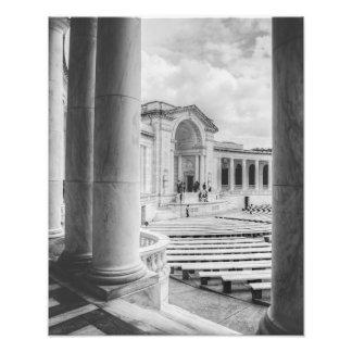 Memorial Amphitheater Photo Print