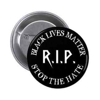Memorial Button Black Lives Matter