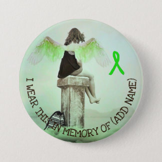 Memorial Button for Lyme Disease Fallen Warriors