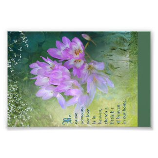 Memorial Card Art Photo